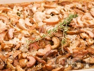 Печен ориз с маслини и мащерка на фурна